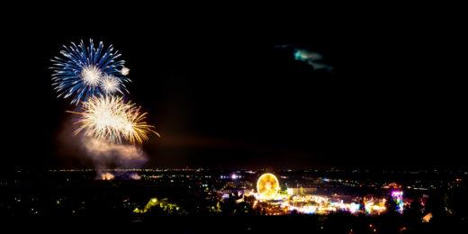 Wurstmarkt 2011- Feuerwerk