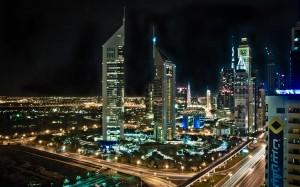 Dubai bei Nacht v2