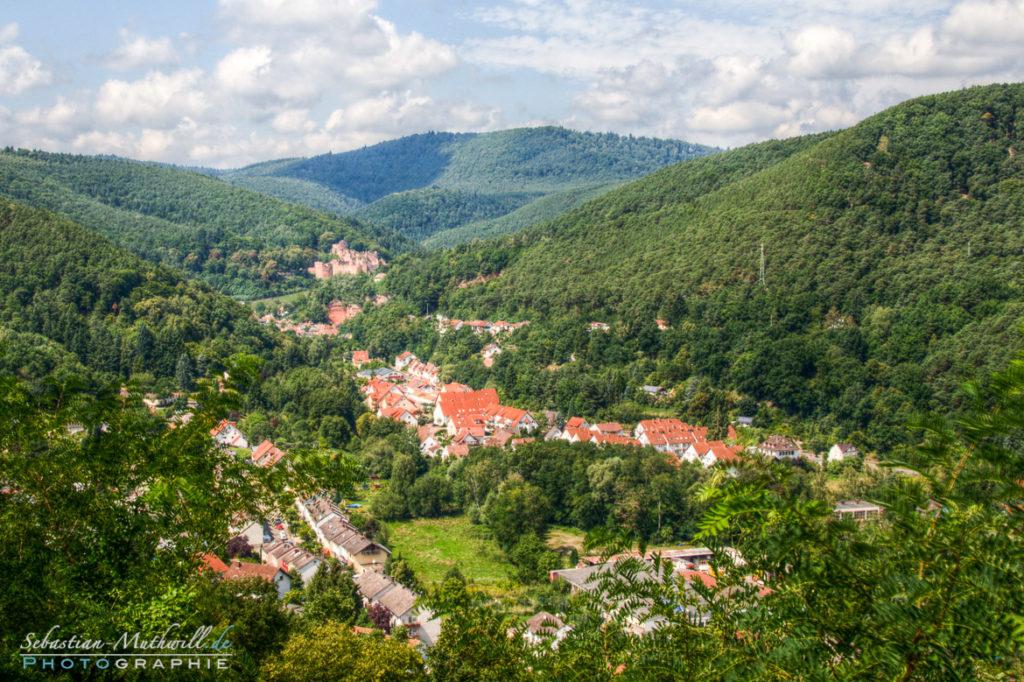 Hardenburg - Bad Dürkheim HDR